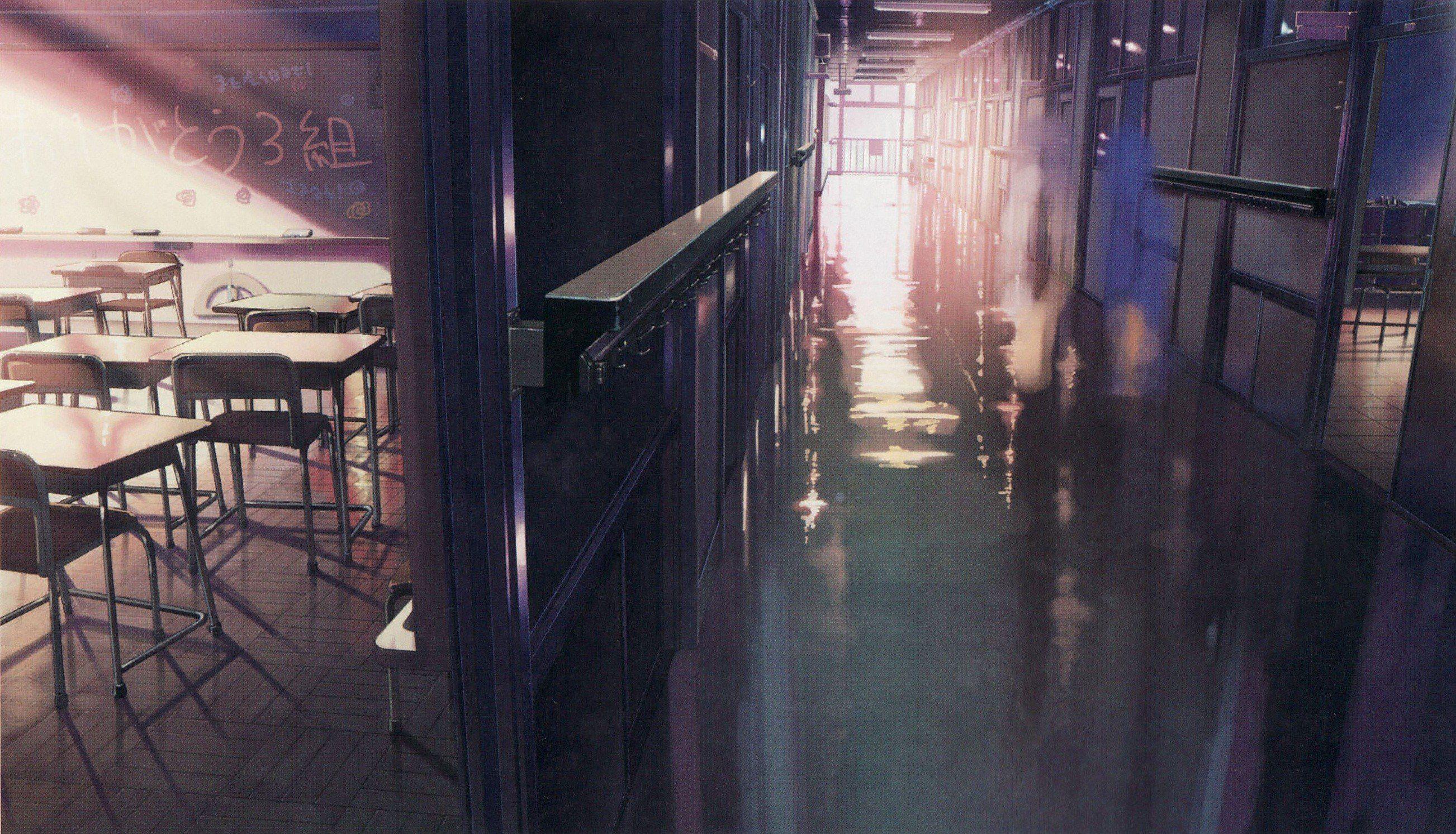 School memories Makoto Shinkai 5 Centimeters Per Second