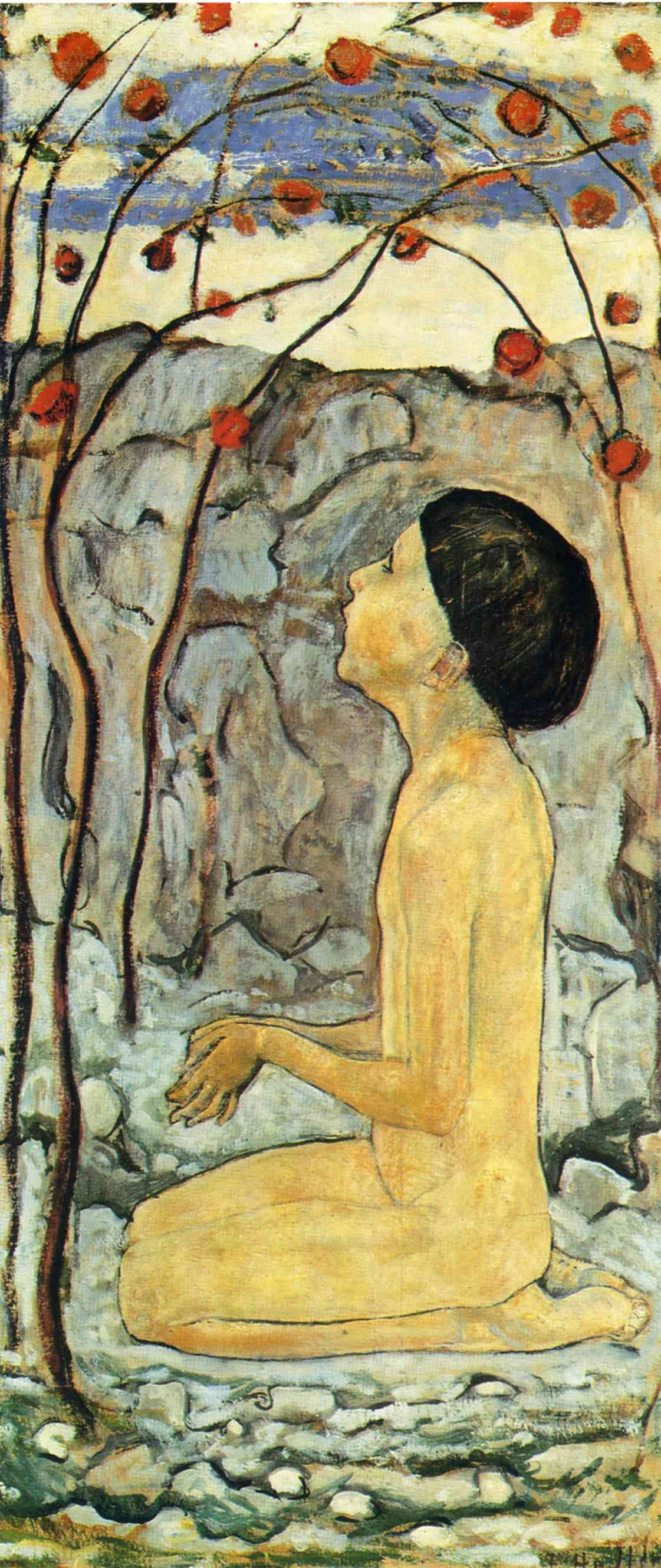 Adoration - Ferdinand Hodler.Uno de los más destacados pintores suizos del siglo XIX