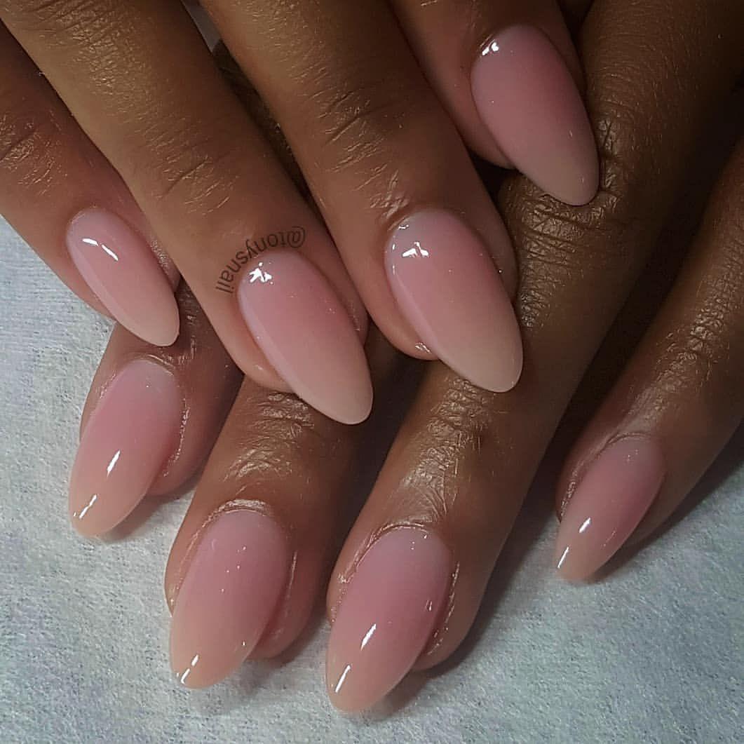 Nail Shape Almond Chrome #elpasonails #licensednailtech # ...