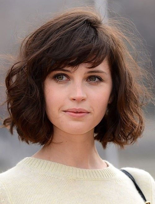 Felicity jones short hair pesquisa google short hair who said girls with short hair cant curl their hair heres a messy curly look by felicity jones goes to show short haired girls can rock curls too urmus Choice Image