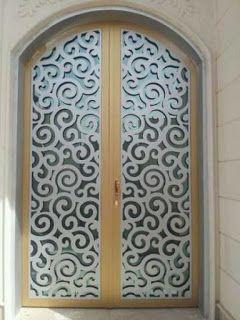ابواب بوابات ليزر قص ليزر حديد 0530608113 Iron Door Design Iron Doors Door Design