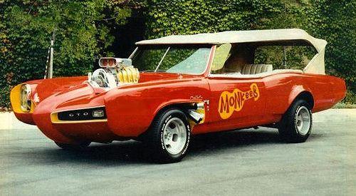 American Muscle Cars For Sale >> The Monkees Car A 1967 Pontiac Gto Sunday Driver Custom