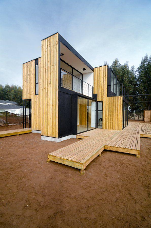 SIP Panel House Located: Valparaíso, Chile Architect: Alejandro ...