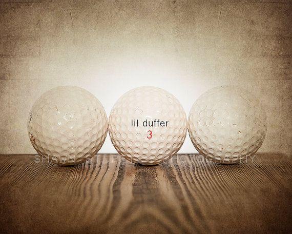 Vintage Golf Balls Lil Duffer Photo Printdecorating Ideas Etsy Golf Ball Vintage Golf Golf Fashion