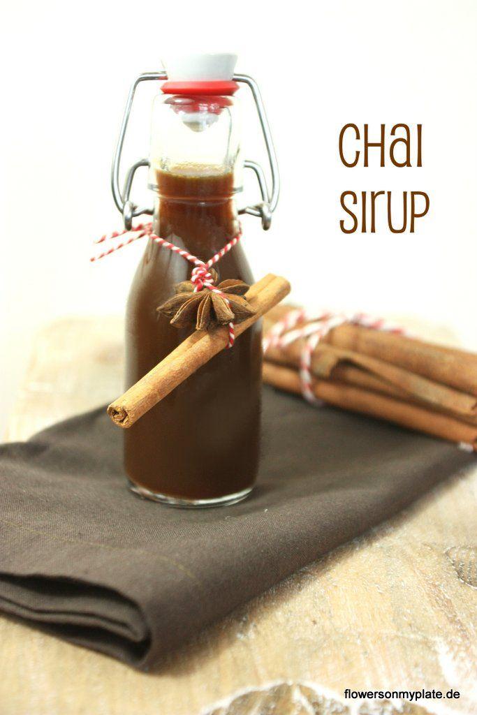 chai sirup zum selbermachen rezept napoje rezepte. Black Bedroom Furniture Sets. Home Design Ideas