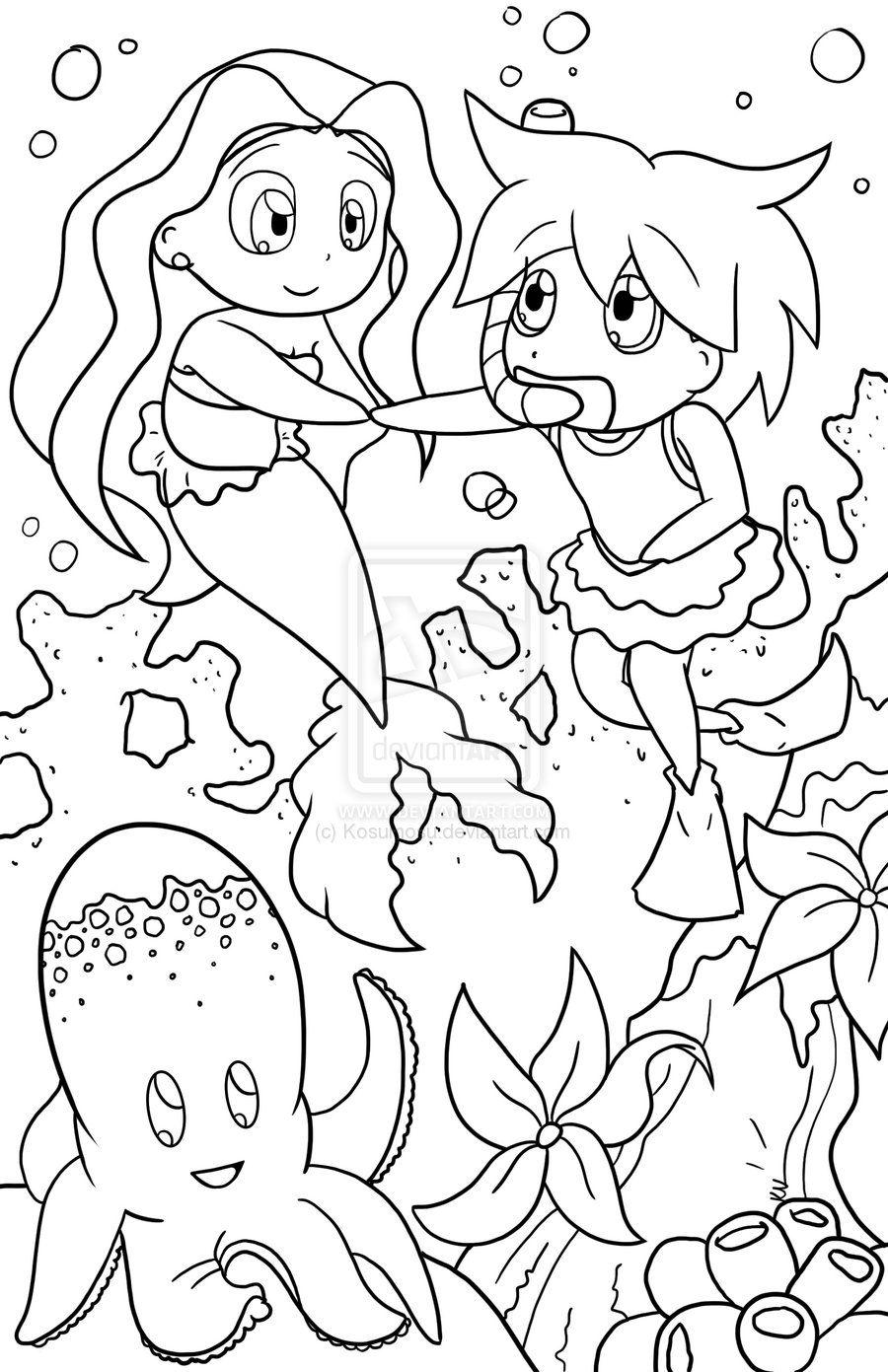 random+coloring+pages | Coloring Book Random Page by Kosumosu on ...