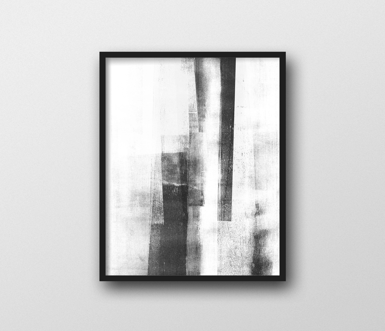 Black White Wall Art Scandinavian Art Minimalist Poster Abstract Art Instant Download Printable Art Abstra Black And White Wall Art Art Scandinavian Art