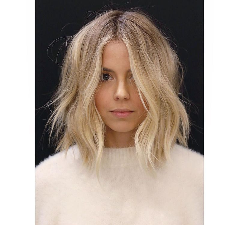 Short Hair Balayage Blonde Hairstyles Hair Lengths Medium Length Hair With Layers Hair Styles