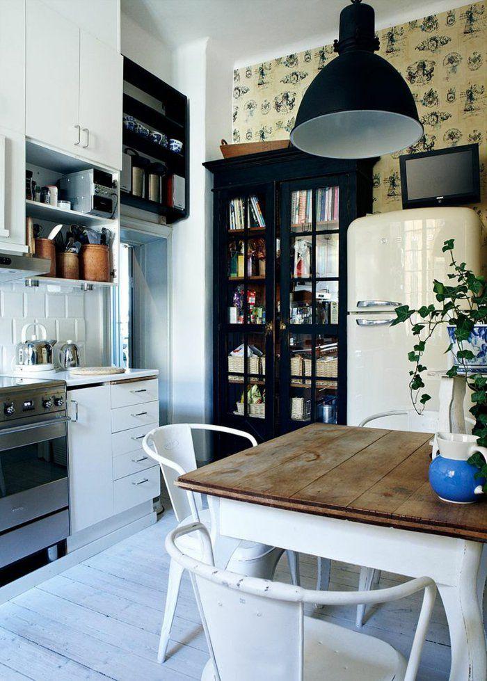 comment bien amnager une cuisine feng shui sol en planchers blanches