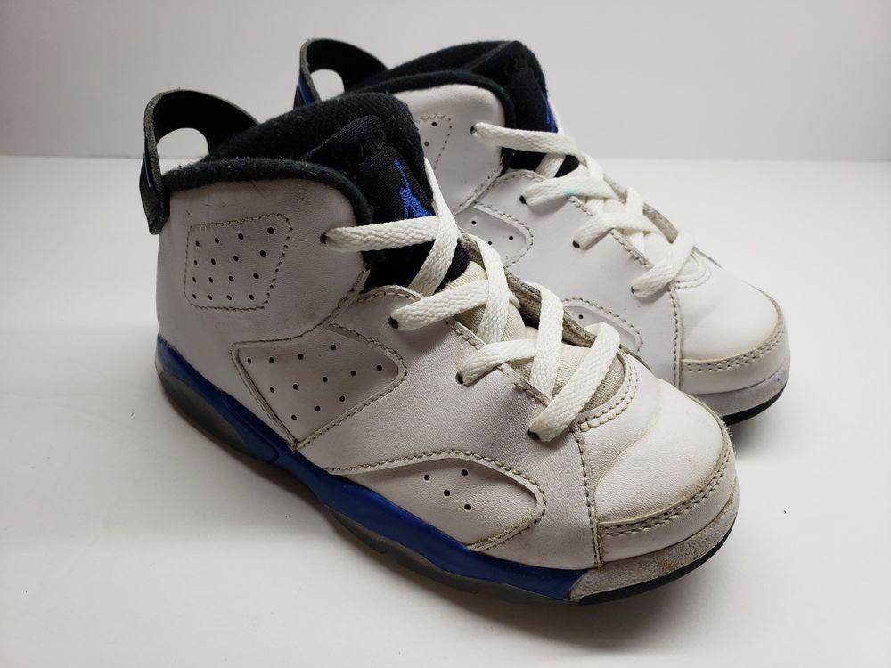 Jordan Retro 6 Sport Blue Sz 10C fashion clothing shoes