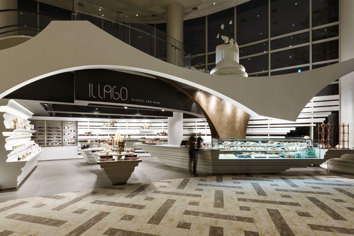 Il lago bakery wine shop by design bono goyang city south korea · magasinintérieur de