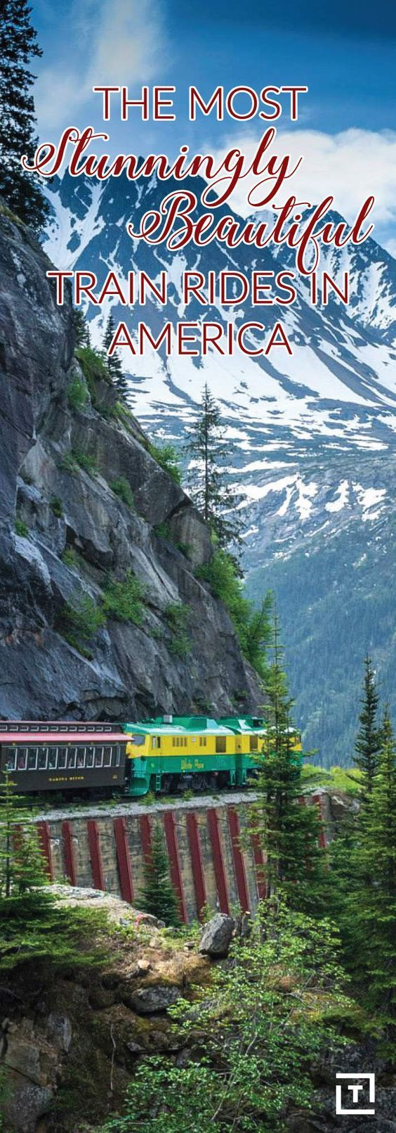 , Die schönsten Zugfahrten in Amerika – The Most Stunningly Beautiful Train Rides in America    Die Reise ist wichtiger als das Ziel. Das Reisen mit de…, Travel Couple, Travel Couple