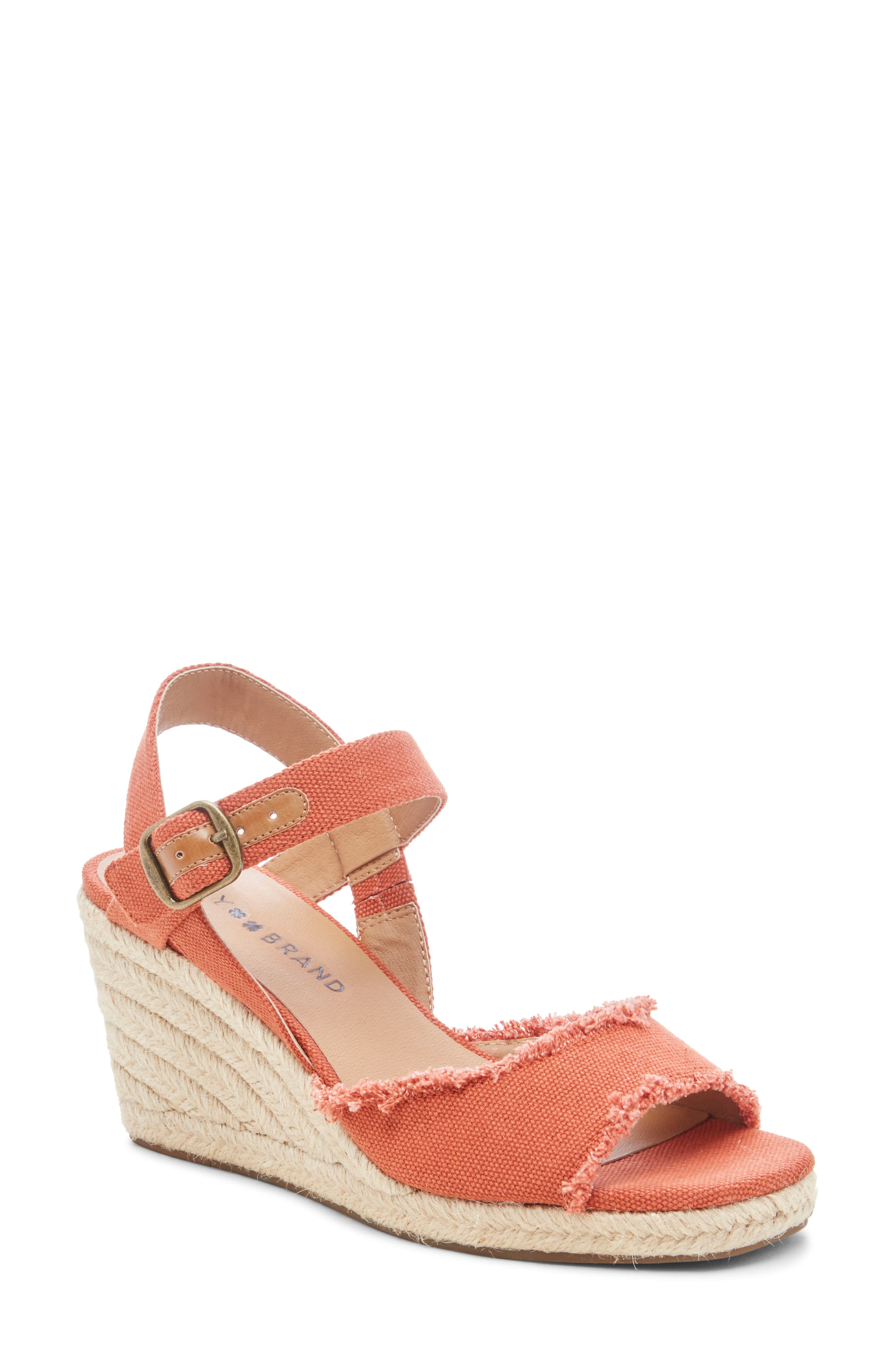 e8d89a6d7df Lucky Brand Mindra Espadrille Wedge Sandal in 2019 | Products ...