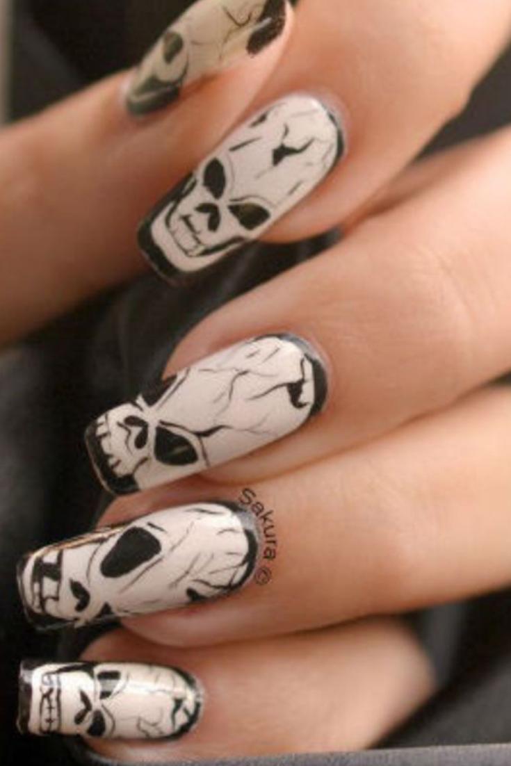 Nail Art Halloween Les 30 plus beaux Nail Art Halloween