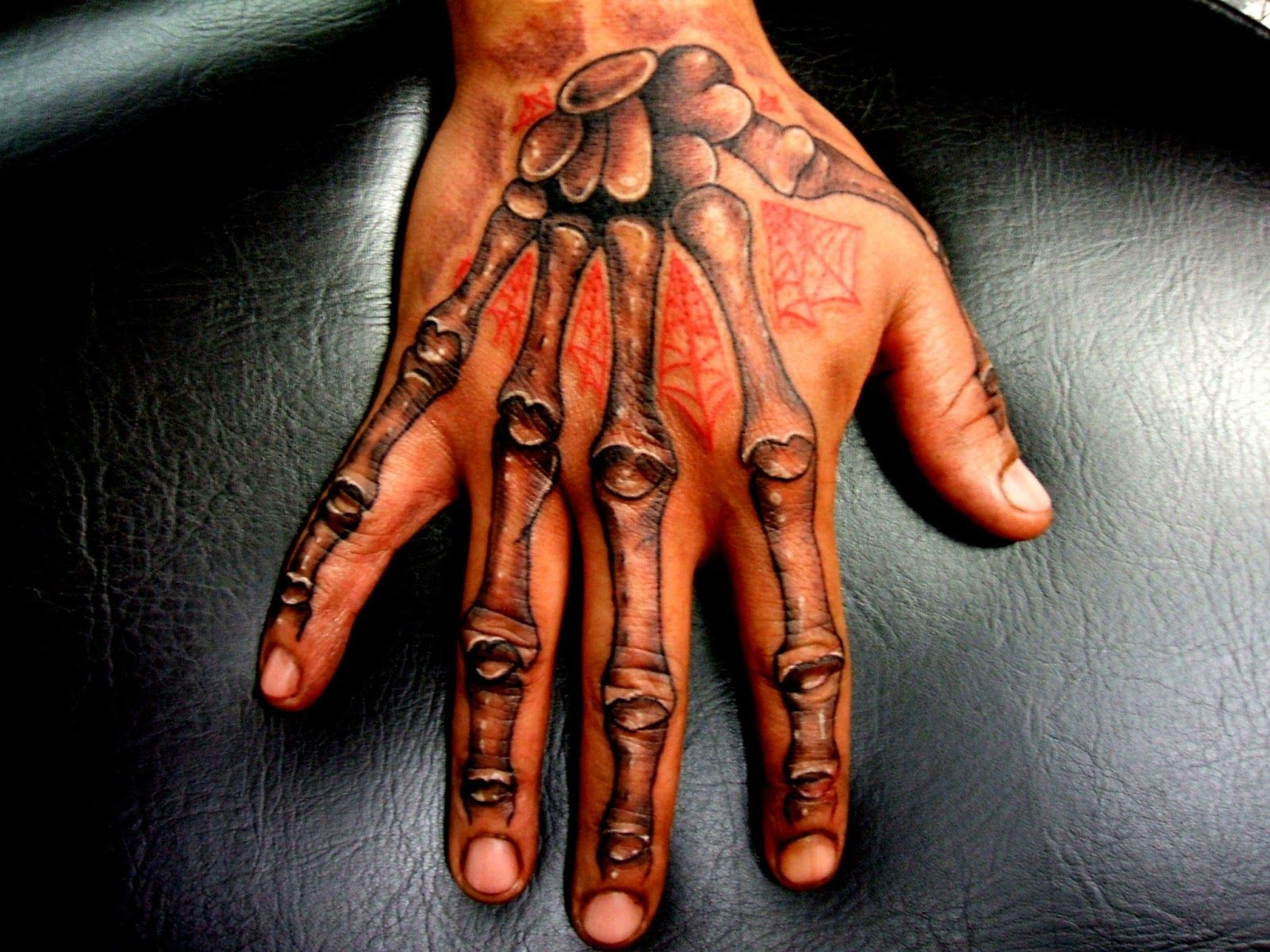 Hand tattoos for men. See more http//www.onlytattoos