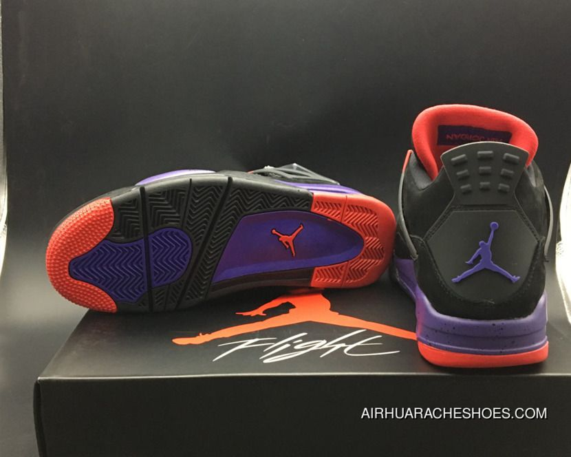edc50594ab53 New Release Air Jordan 4 Nrg  Raptors  Black University Red-Court Purple