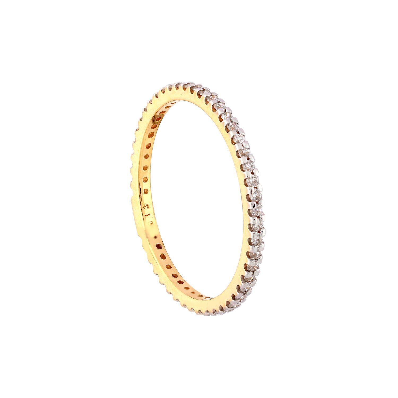 Tanishq yellow gold and diamond finger ringfvmlaa jewelry