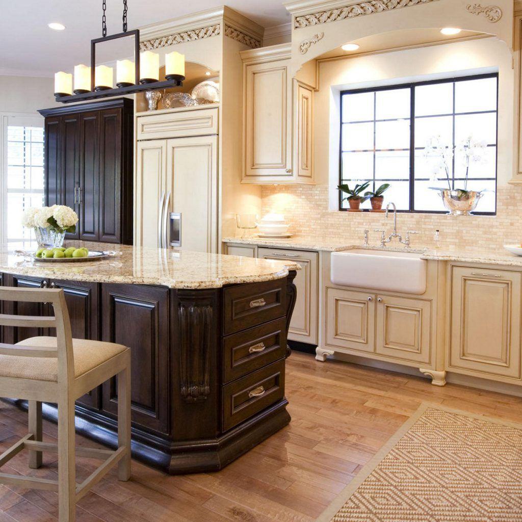 Backsplash For Cream Kitchen Cabinets With 20 Beautiful Cream Kitchen Cabinets Photos French Country Kitchen Cabinets Rustic Kitchen Cabinets Country Kitchen