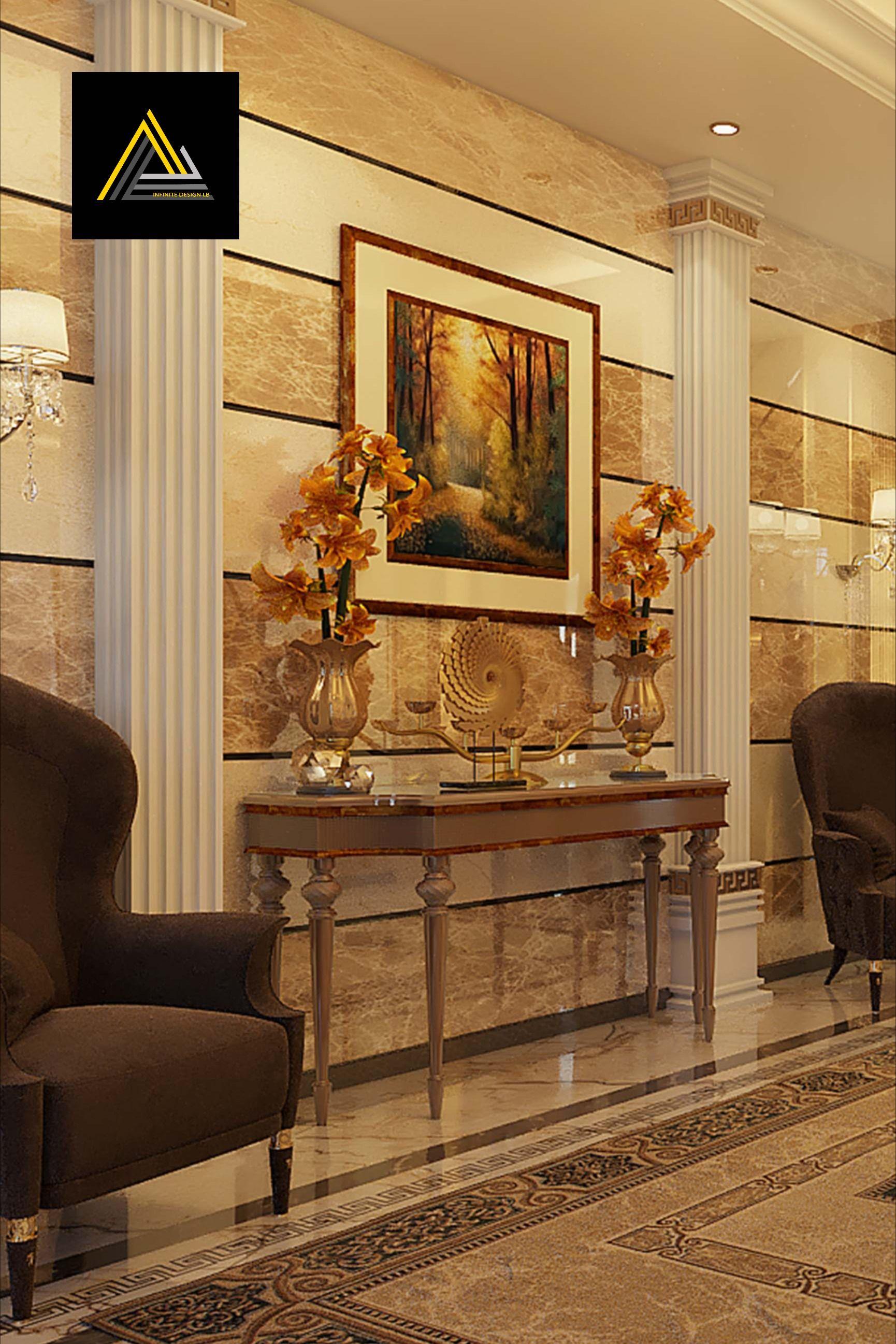 تصاميم قصور و فلل في قطر Home Decor Decor Fireplace