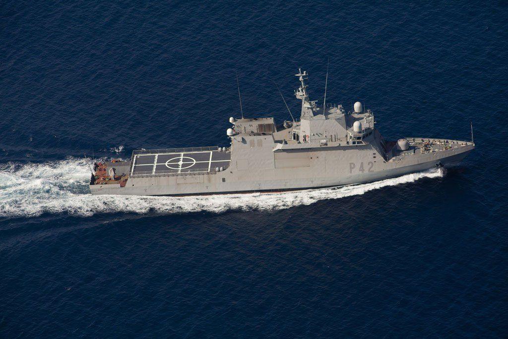 Spanish Navy BAM Rayo (P-42), LCS  Photo: Navantia | Armada buques