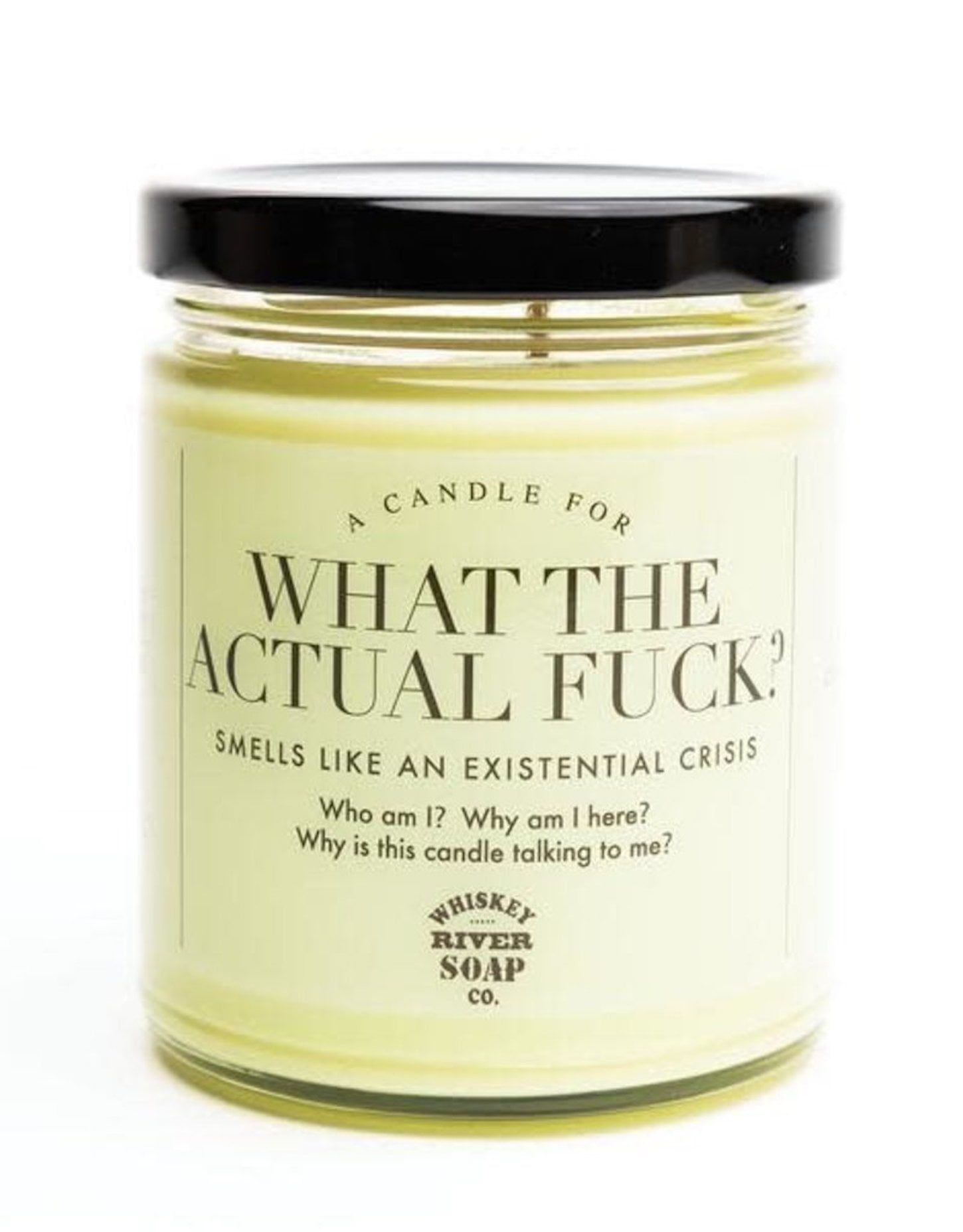 This What The Actual F Ck Candle Smells Like An
