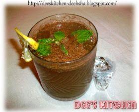 DEE's KITCHEN.: Lemon Masala Soda