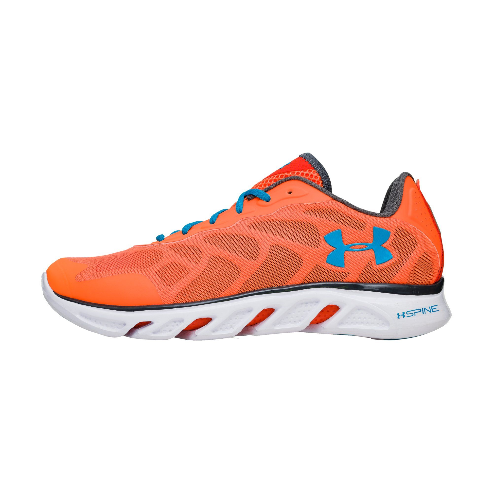 Under Armour Orange Running Shoes