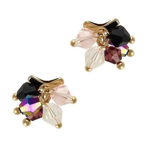 Nail Jewelry Ab Pom Pom Gem Dangles Ava Incrustaciones Pinterest