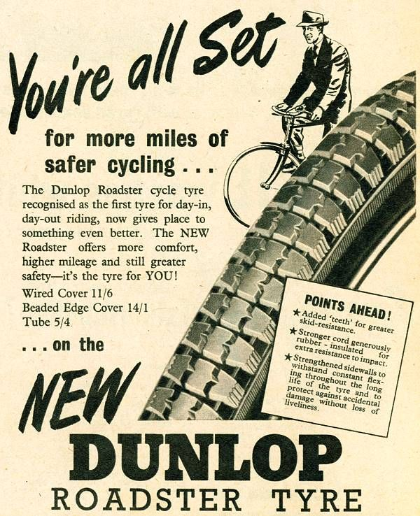 Dunlop Gold seal Tyres Ad 1963 | Dunlop