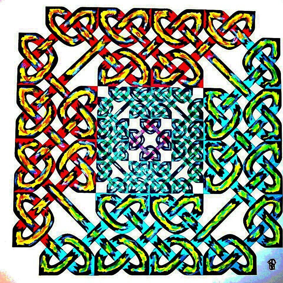 Celtic art created by me shalimar instagram art pinterest