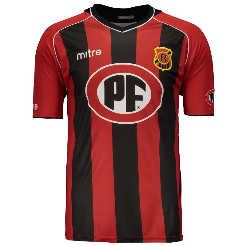 Camisa Mitre Rangers de Talca Home 2014 Somente na FutFanatics você compra  agora Camisa Mitre Rangers 9551b8f1f37fa