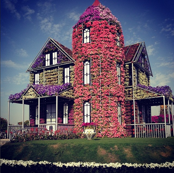 Street Style: A House in Bloom #EDStreetStyle