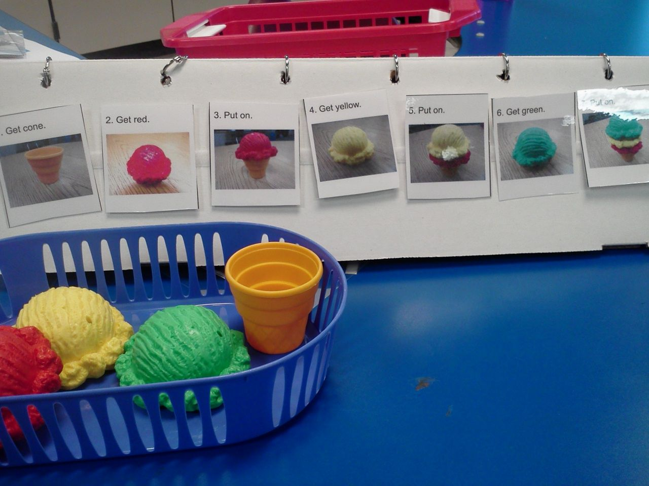 Independent Work Task Sequencing Following Directions Assembly