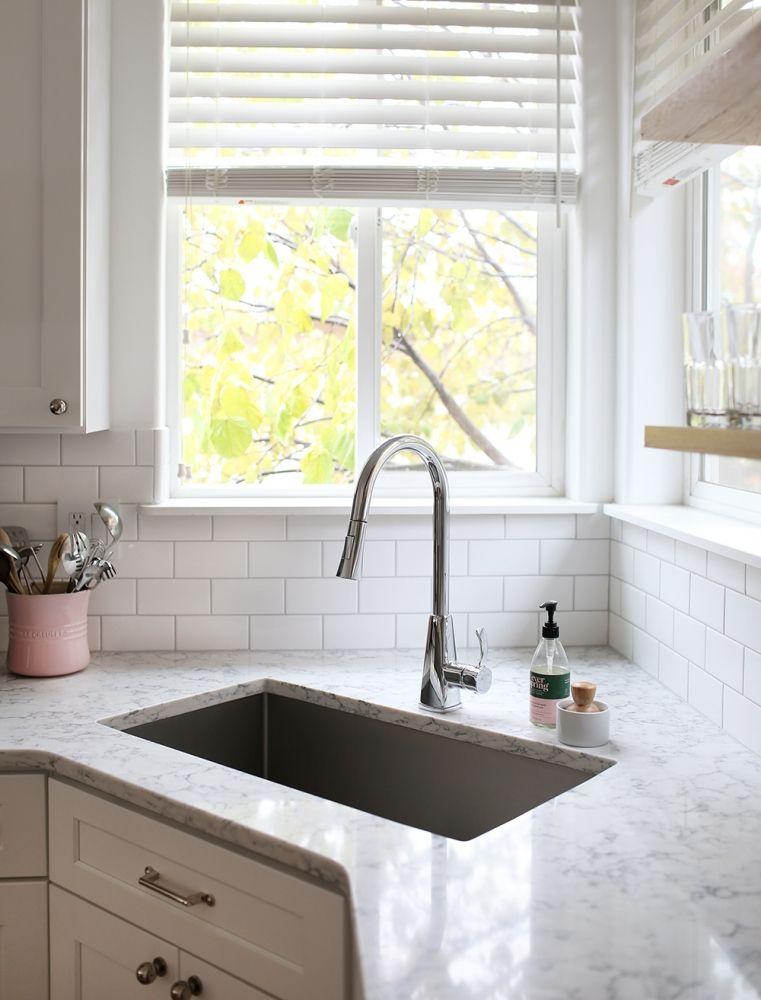 Corner Sinks What To Consider What We Chose At Home In Love Corner Sink Kitchen Kitchen Design Small Cottage Kitchen Cabinets