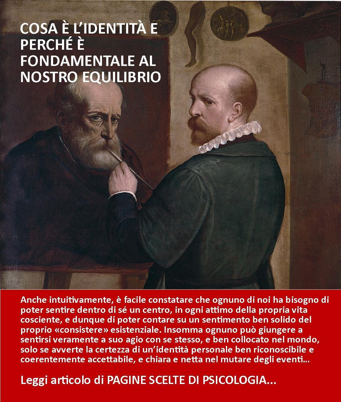 L'IDENTITA BASE DI NOI STESSI