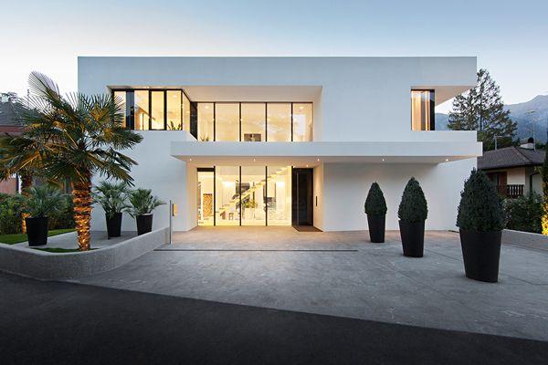 Italian White Villa Revedecor Architecture Design House