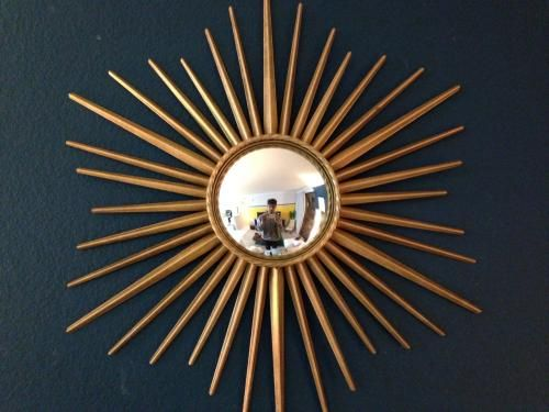 51949fb0d19f Martha Stewart Living Wales 30 in. x 30 in. Metal Antique Gold Framed  Mirror 72930 at The Home Depot - Mobile