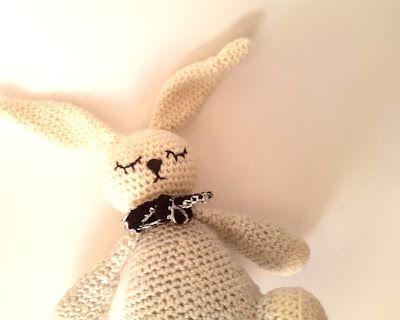 La souris aux petits doigts: Le lapin à paillettes qui se la pète (tuto)