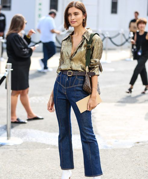 Low-rise jeans? No, thank you. #lowrise #highwaisted #jeans #2020fashiontrends #thekit