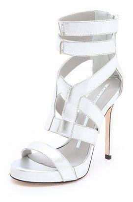POPSUGAR Shopping: Camilla SkovgaardPlatform Metallic Sandals