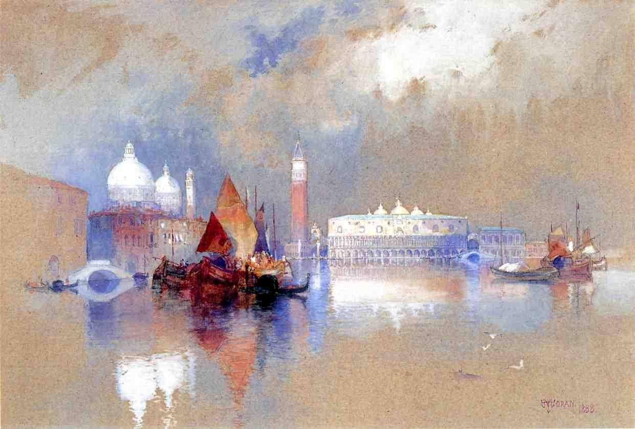 Watercolor artists directory wiki - Thomas Moran Watercolor Google Search