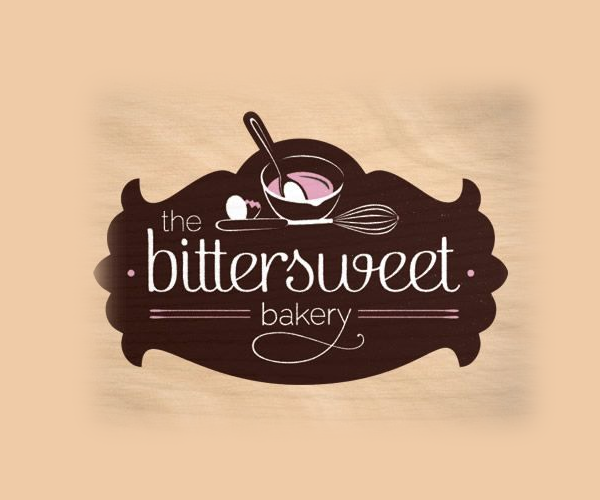 the-bittersweet-bakery-logo-design | 2017 | Pinterest | Bakery ...