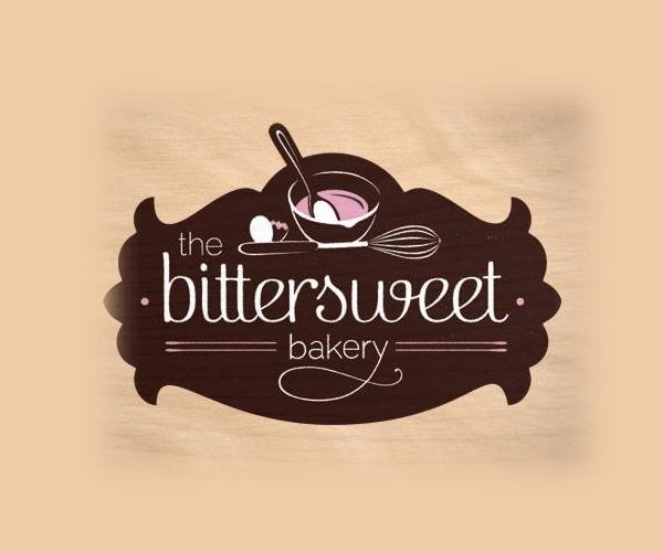 The Bittersweet Bakery Logo Design кондитерский логотип Bakery