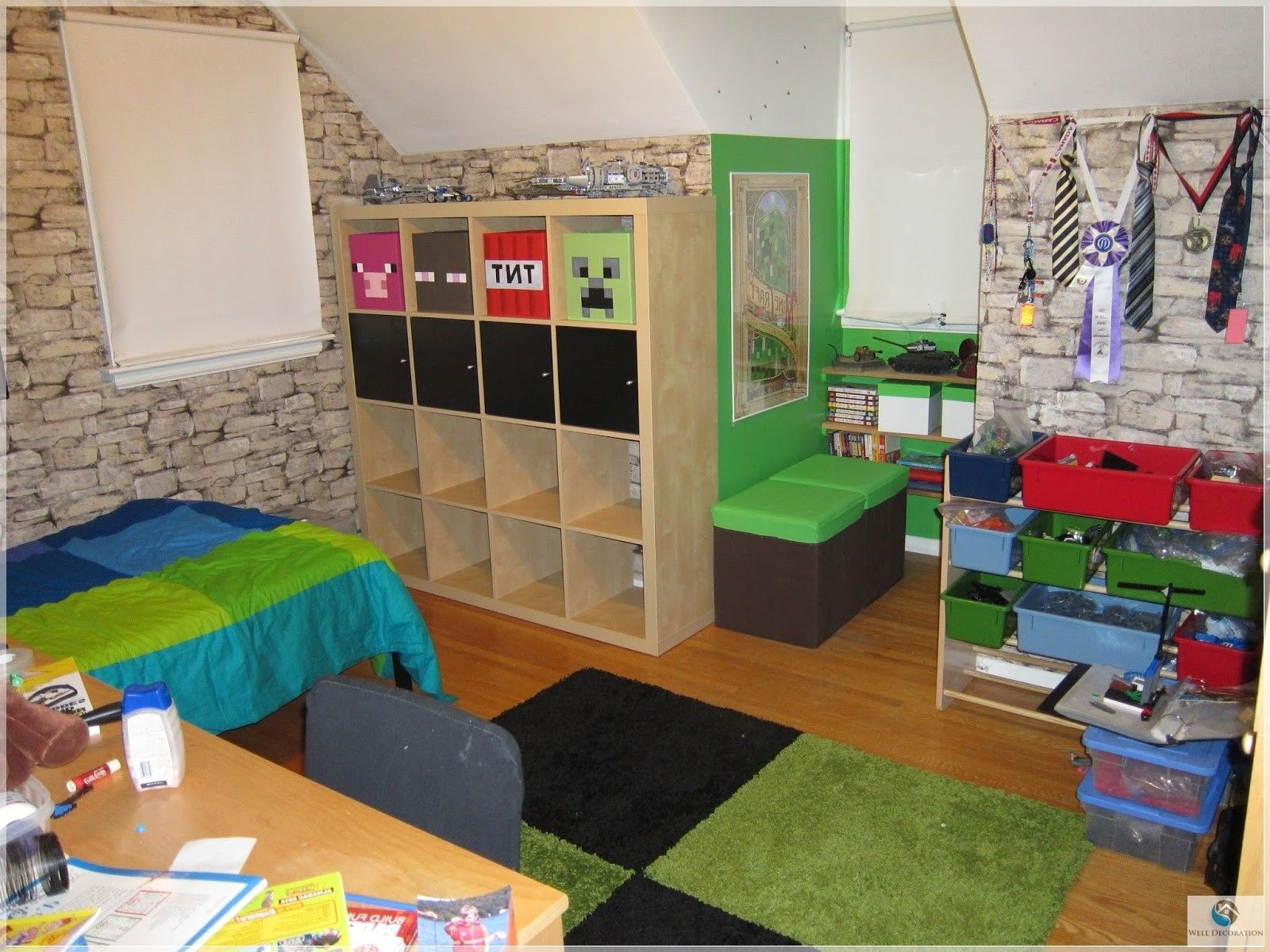 Ravishing Kids Room Designs For Boys Minecraft Themed Bedroom Idea With  Which Is. KinderzimmerMinecraft Schlafzimmer ...