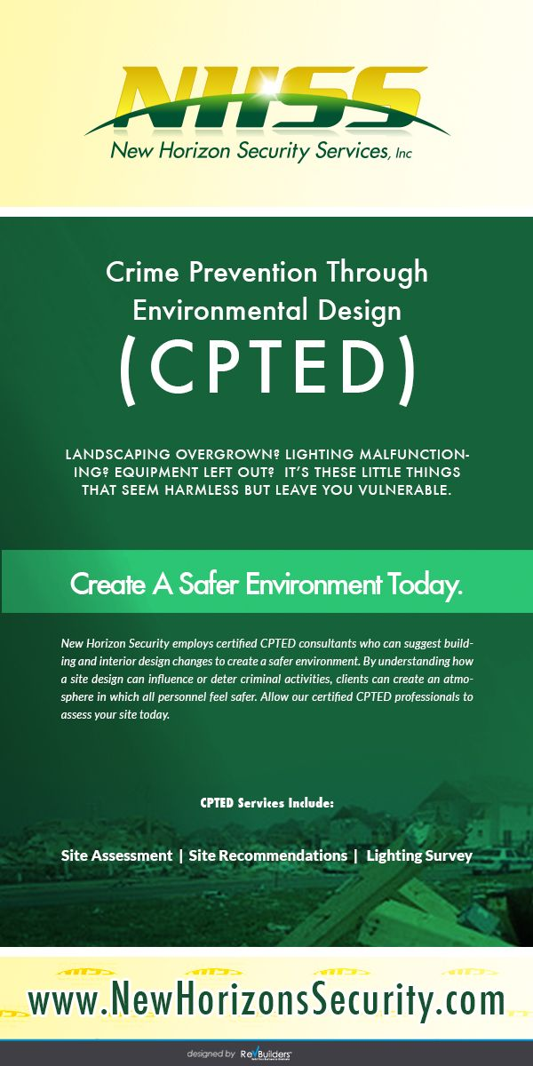 Crime Prevention Through Environmental Design (CPTED) Virginia - government armed security guard sample resume