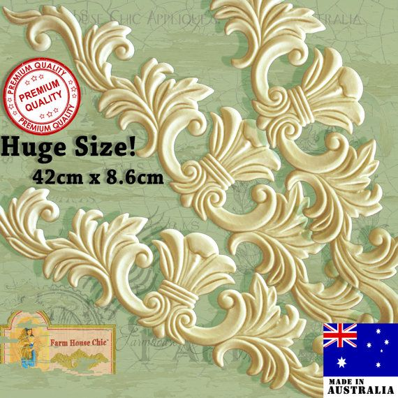 3 X Large French Provincial Ornamental Furniture Mouldings