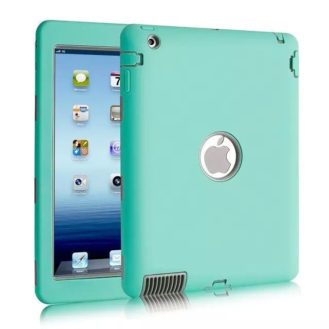 separation shoes 7c631 e97e8 Luxury Heavy Duty Silicone Tablet Case Cover For Apple iPad 2 IPAD 3 ...