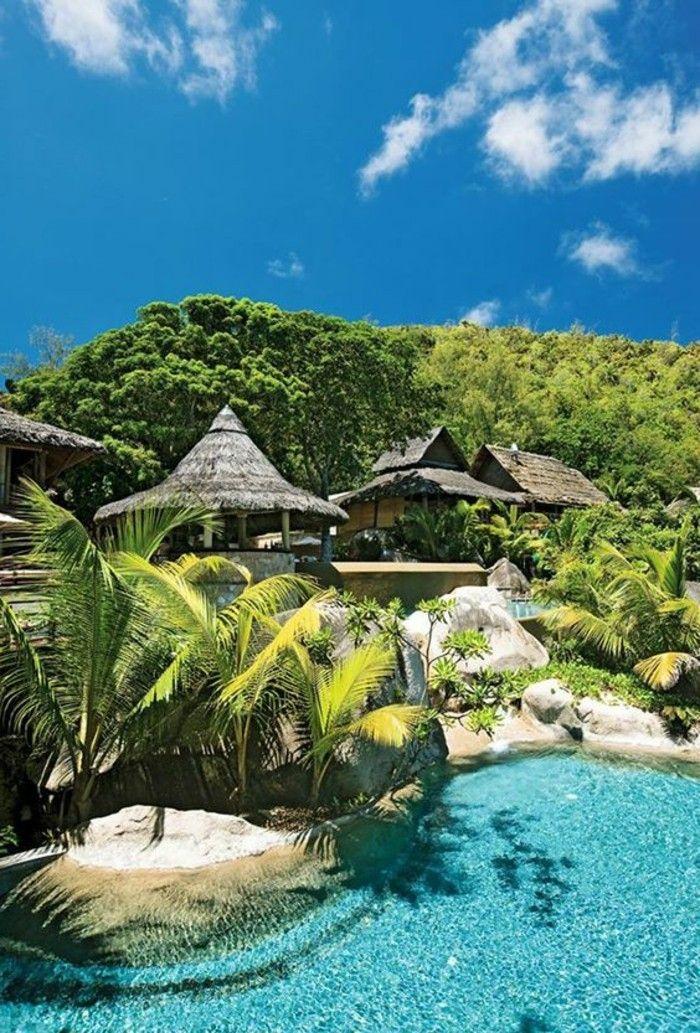 Praslin Seychelles. Les Iles Paradisiaques Destination De Reve Pas Cher