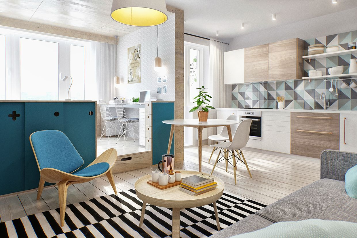 Home Remodeling Ideas, Design Inspiration, Decor | Moscow, Compact ...
