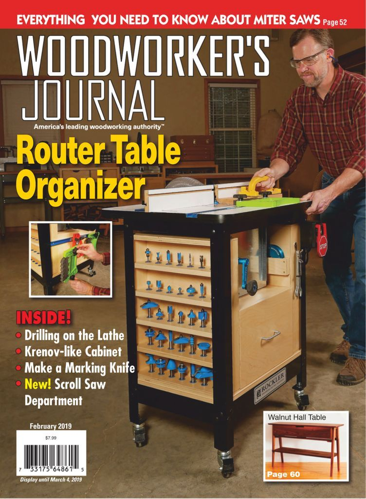 Woodworker S Journal Magazine Subscription Woodworking Router Table Plans Learn Woodworking